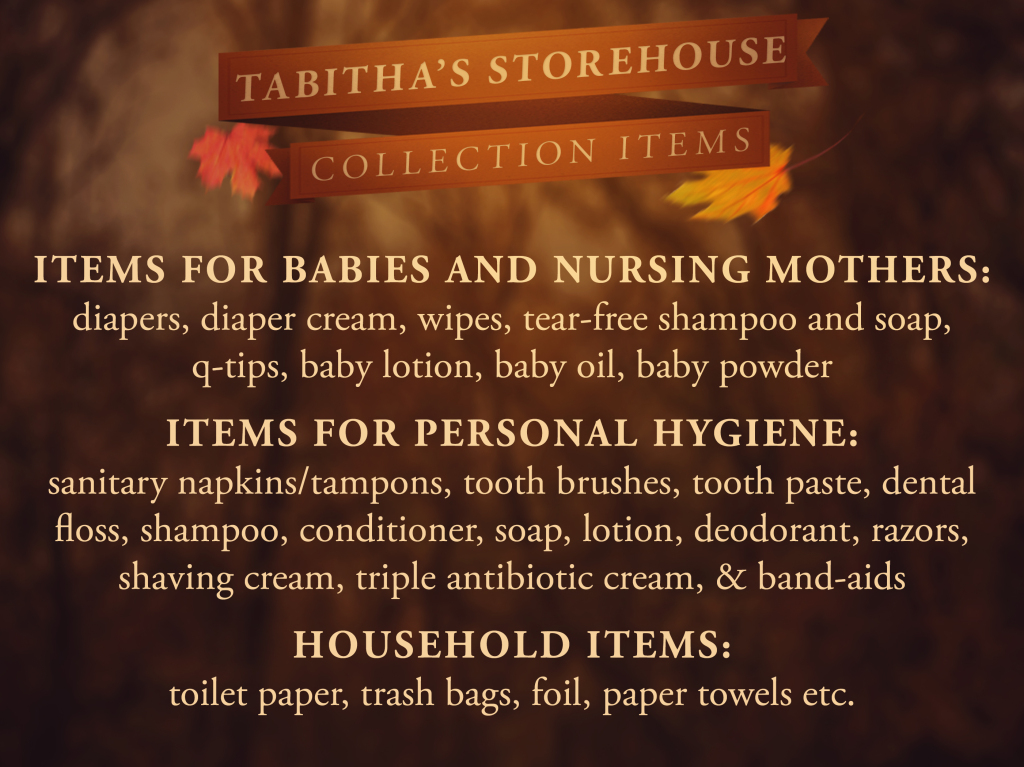 Tabitha's Storehouse Collection Items