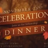Celebration Dinner 2014